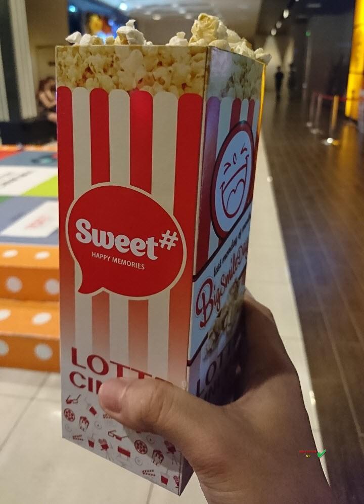 Lotte Cinema Cantavil quận 2 bắp