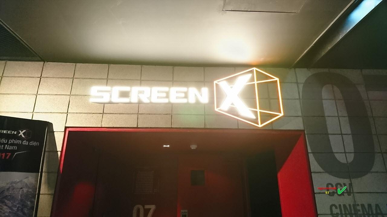 Lối vào rạp ScreenX