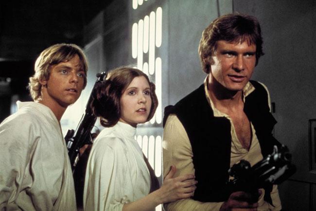 Nữ diễn viên tham gia phim Star Wars