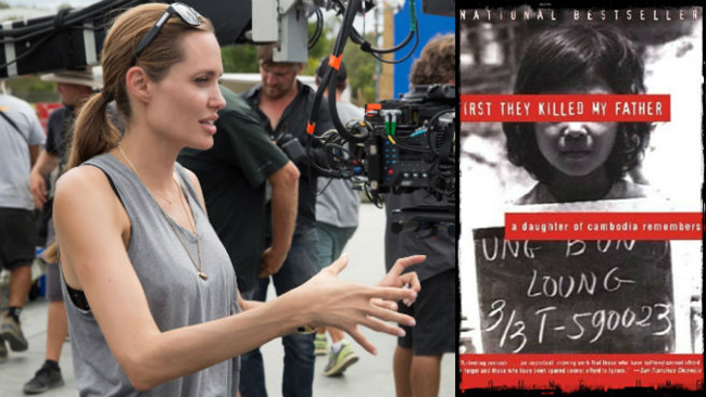 Nhà sản xuất Angelina Jolie sau hậu trường - They Killed My Father