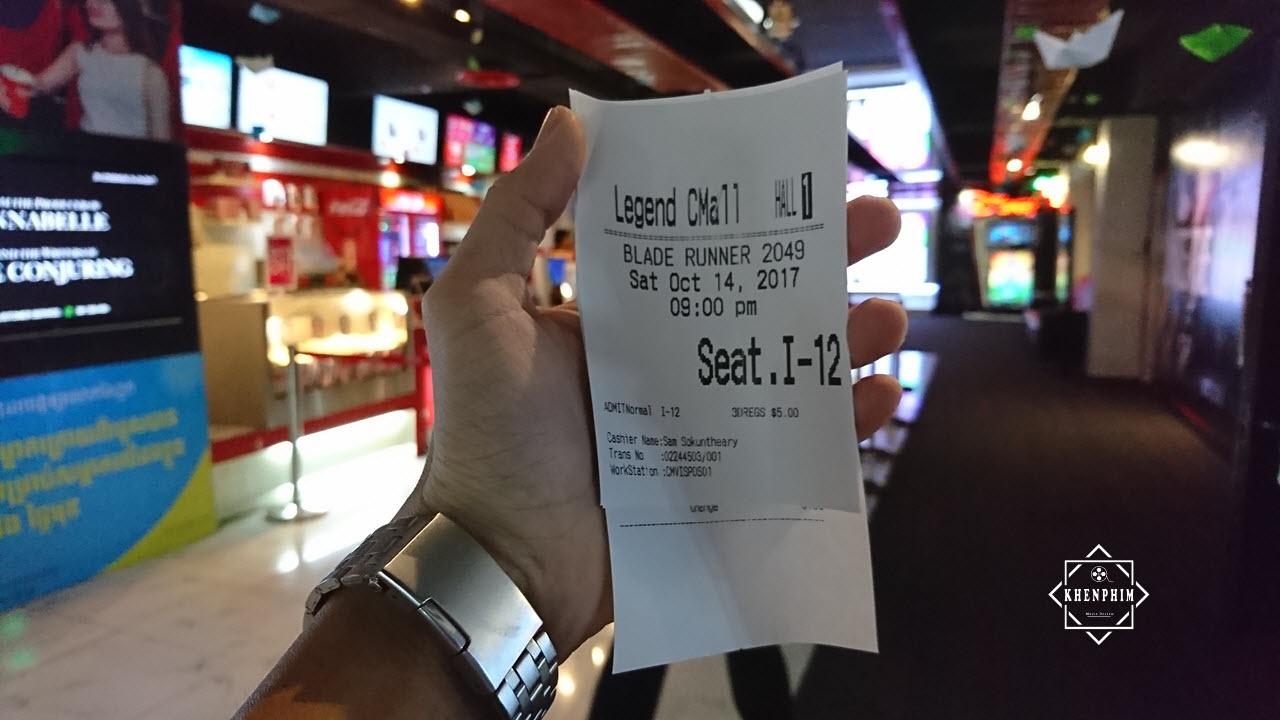 Vé xem Blade Runner 2049 (3D) tại Legend Cinema