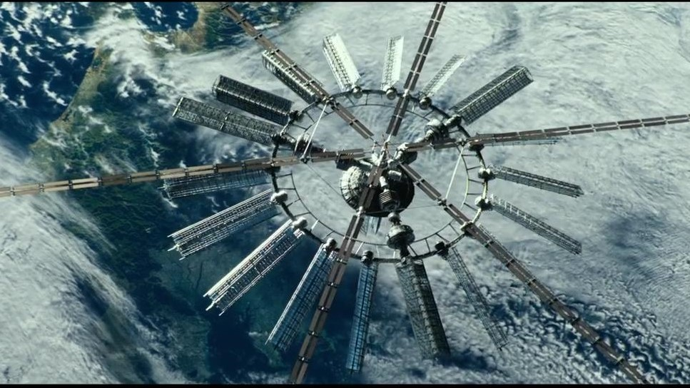 Space Station - Geostorm