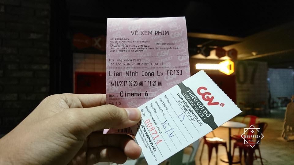 Vé xem phim Liên Minh Công Lý ở rạp Dolby Atmos