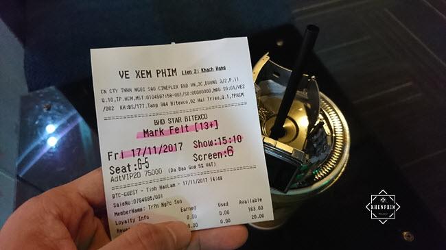 Vé xem phim Kẻ Đánh Bại Nhà Trắng