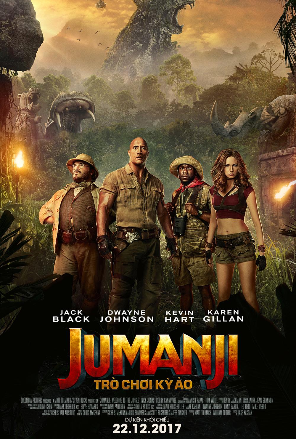 Poster phim Jumanji