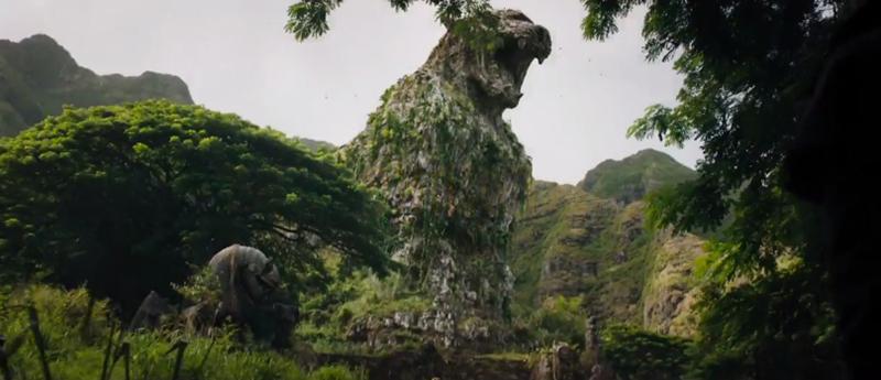Ngọn núi hình con báo trong phim Jumanji