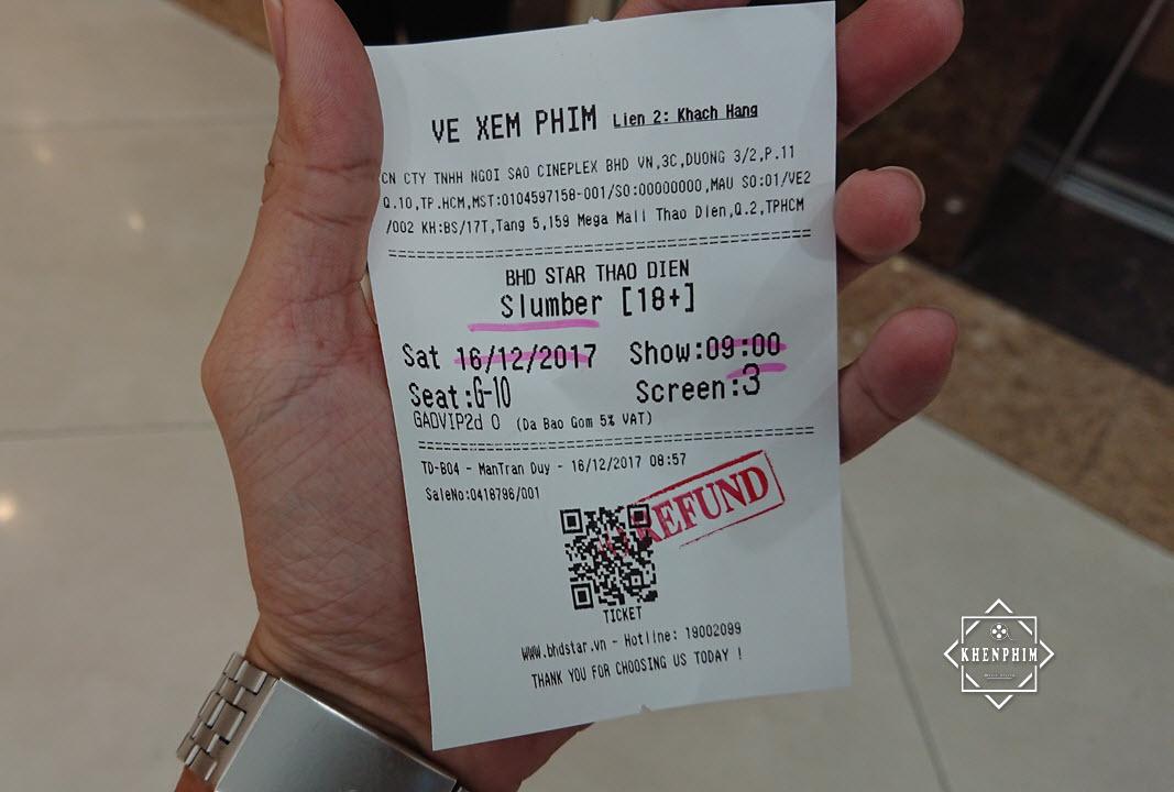 Vé xem phim Giấc Mộng Kinh Hoàng