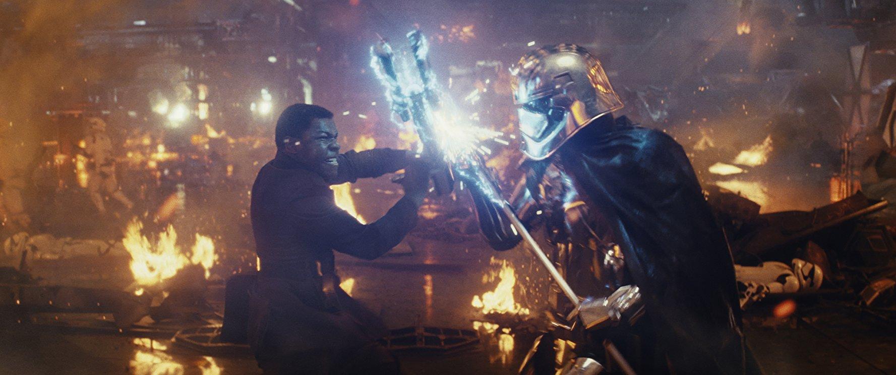 Đa số các cảnh có sử dụng kỹ xảo trong Jedi Cuối Cùng đều được đầu tư tốt.