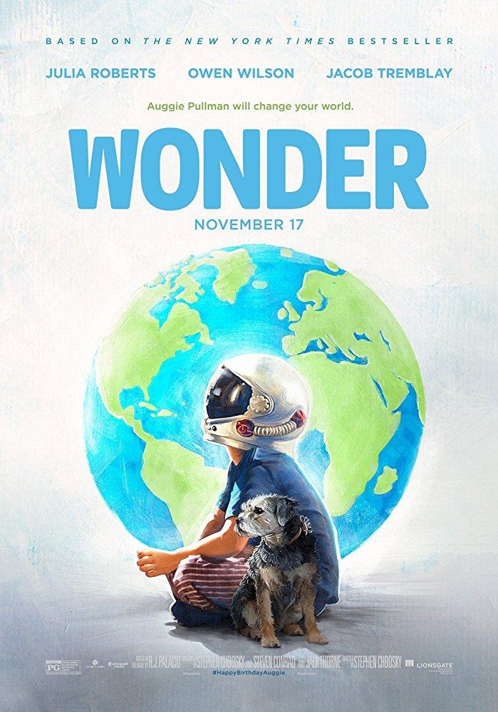 Tại sao poster Wonder lại có hình ảnh Trái Đất và phi hành gia nhí?