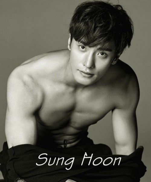 Sung Hoon trong phim Brothers in Heaven