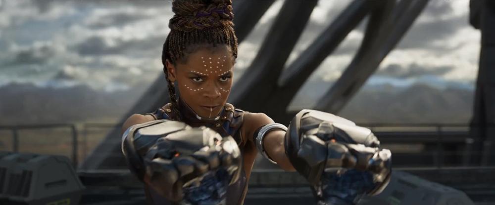 Một trong các nhân vật trong Black Panther