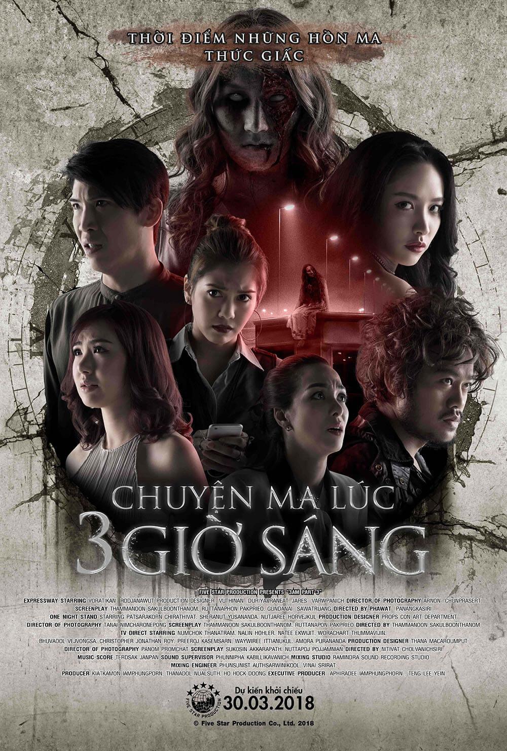 Poster phim Chuyện Ma Lúc 3 Giờ Sáng