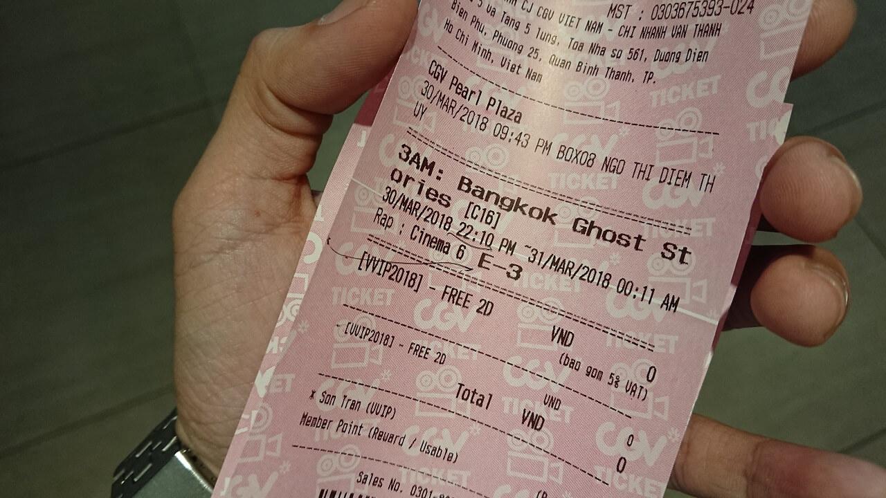 Vé xem phim Chuyện Ma Lúc 3 Giờ Sáng