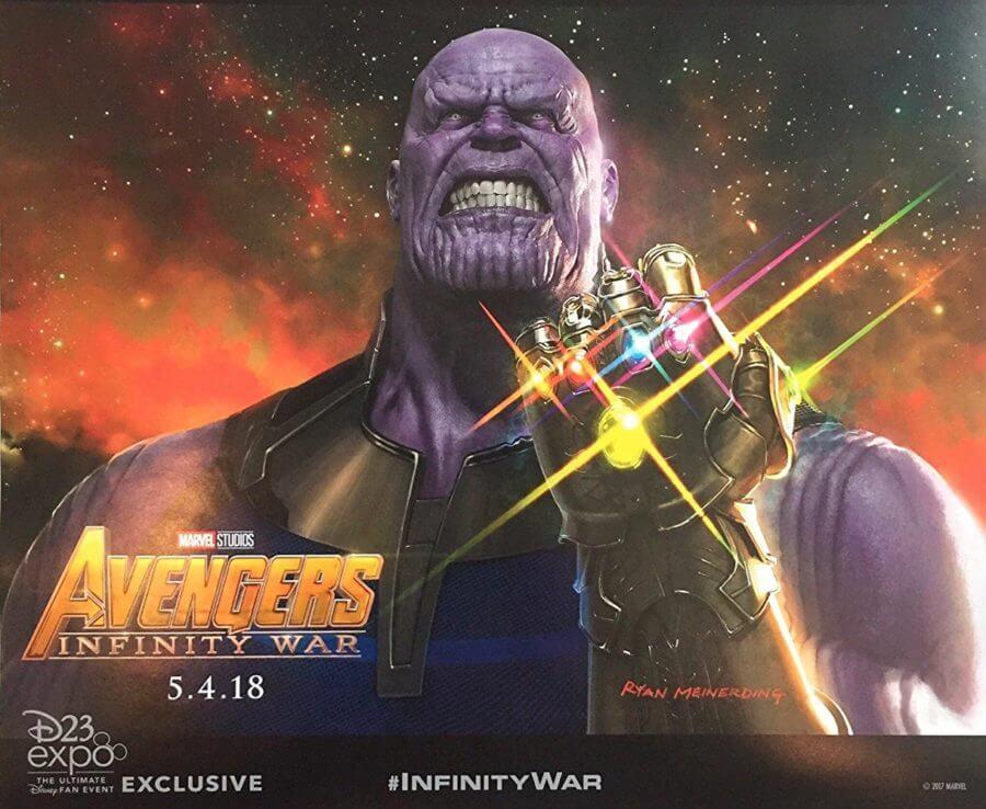 Nhân vật phản diện Thanos trong Avengers: Infinity War