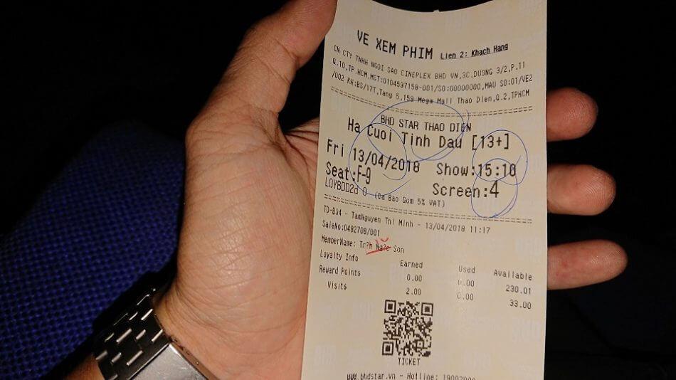 Vé xem phim Hạ Cuối Tình Đầu