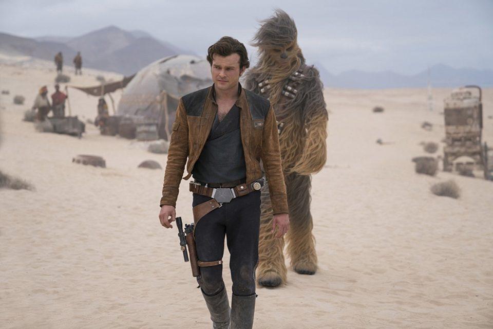 Han Solo và bạn đồng hành mới