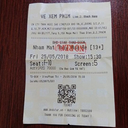Vé xem phim Nhắm Mắt Thấy Mùa Hè