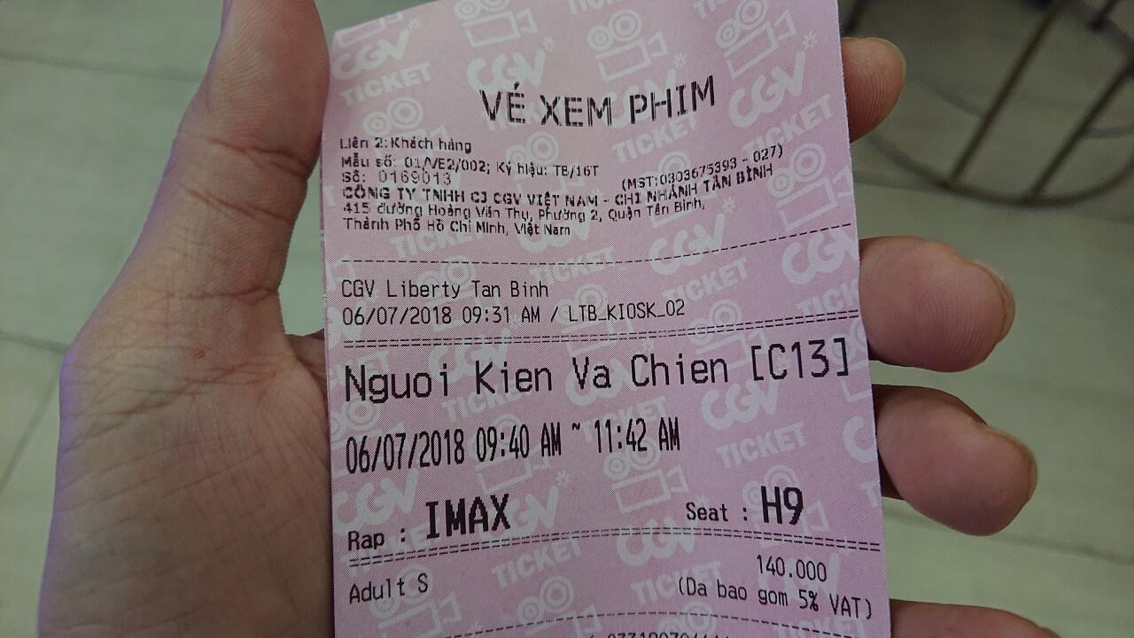 Vé xem phim Người Kiến và Chiến Binh Ong, IMAX 3D