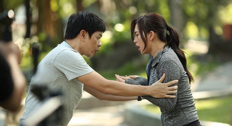 Trong phim Chàng Vợ Của Em, vai diễn của Thái Hòa đã bớt nhây hơn