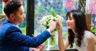 Nhân vật Long và Linh vui vẻ bên nhau - Tìm vợ cho bà