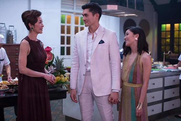 Mẹ của Nick, Nick và Rachel - Con Nhà Siêu Giàu Châu Á (Crazy Rich Asians)