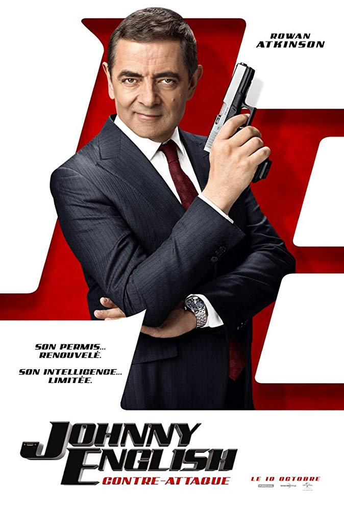 Một tấm poster khác của phim Johnny English Strikes Again