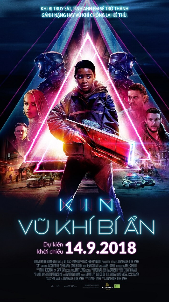 Poster phim Kin (Vũ khí bí ẩn)