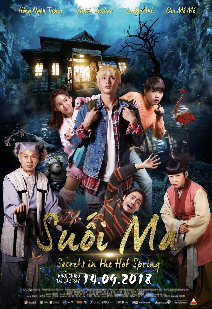Poster phim Secrets in the Hot Spring (Suối ma)