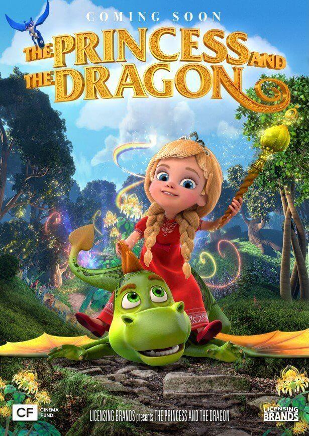 Poster phim Công Chúa Luyện Rồng