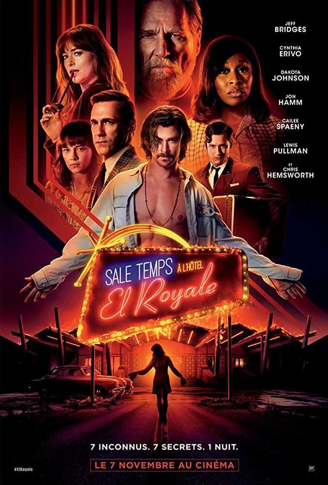 Poster đầy bí ẩn của phim Phút Kinh Hoàng tại El Royale