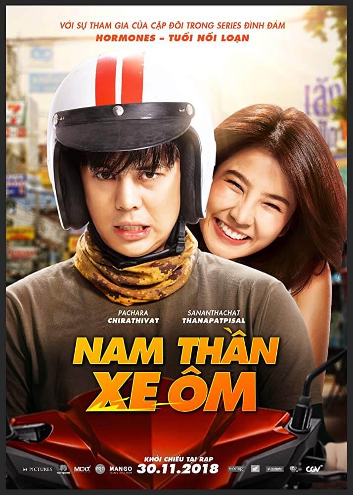 Poster phim Nam Thần Xe Ôm (Bikeman)