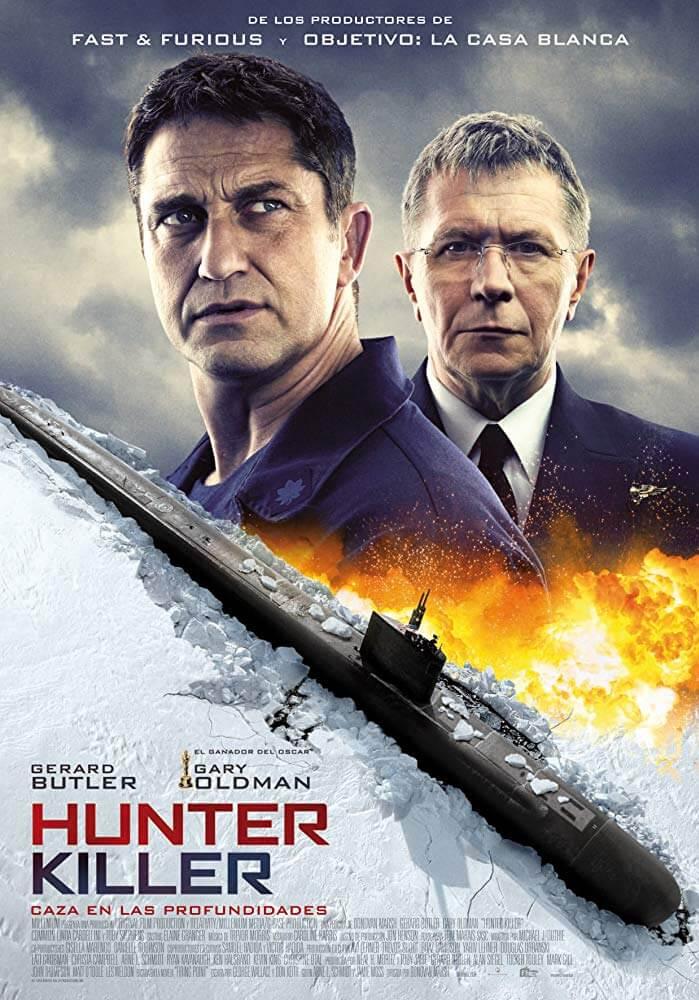 Poster phim Hunter Killer (Mật Vụ Giải Cứu)