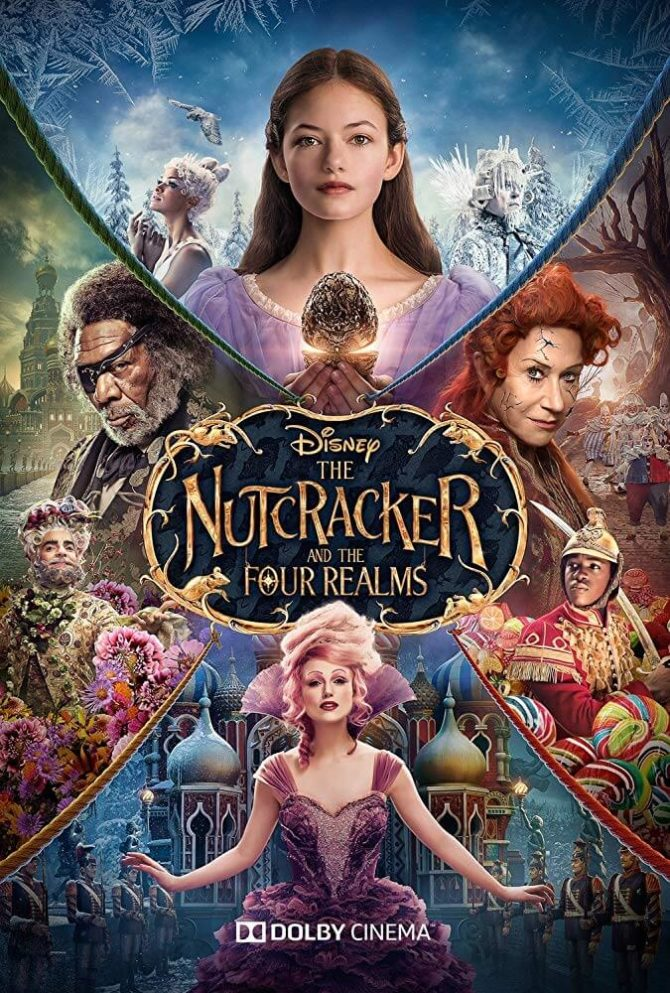 Poster Kẹp Hạt Dẻ và Bốn Vương Quốc (The Nutcracker and the Four Realms)