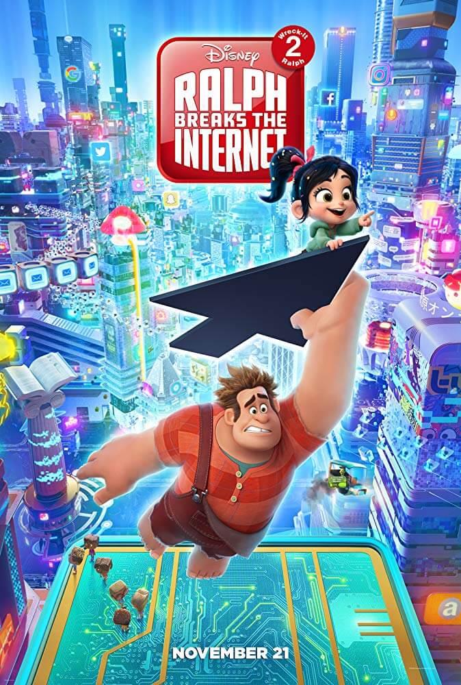 Poster Ralph Breaks the Internet (Phá Đảo Thế Giới Ảo)