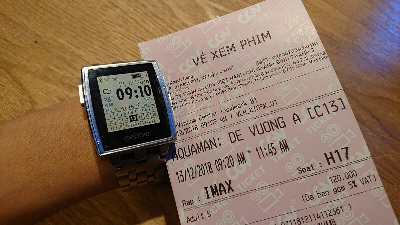 Vé xem phim Aquaman tại phòng IMAX (3D)