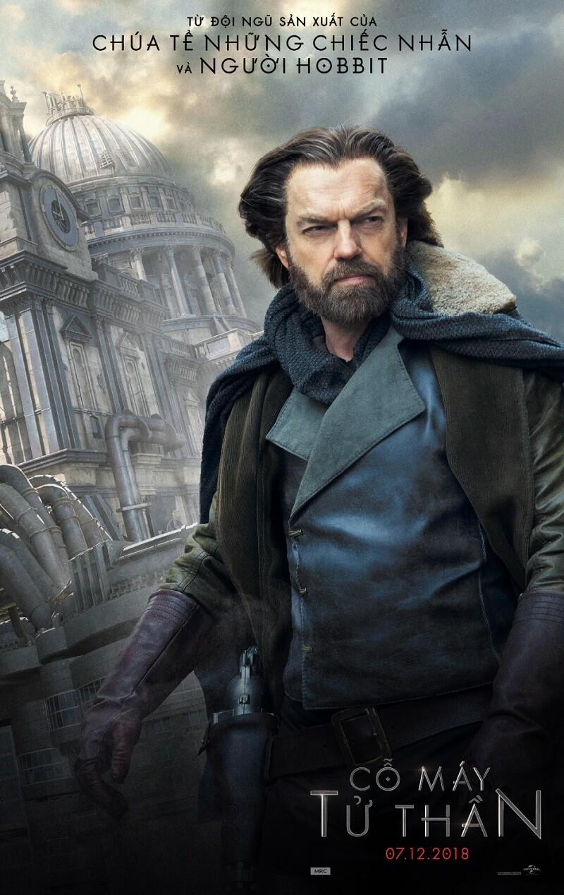 Nhân vật phản diện Valentine - phim Mortal Engines (Cỗ Máy Tử Thần)