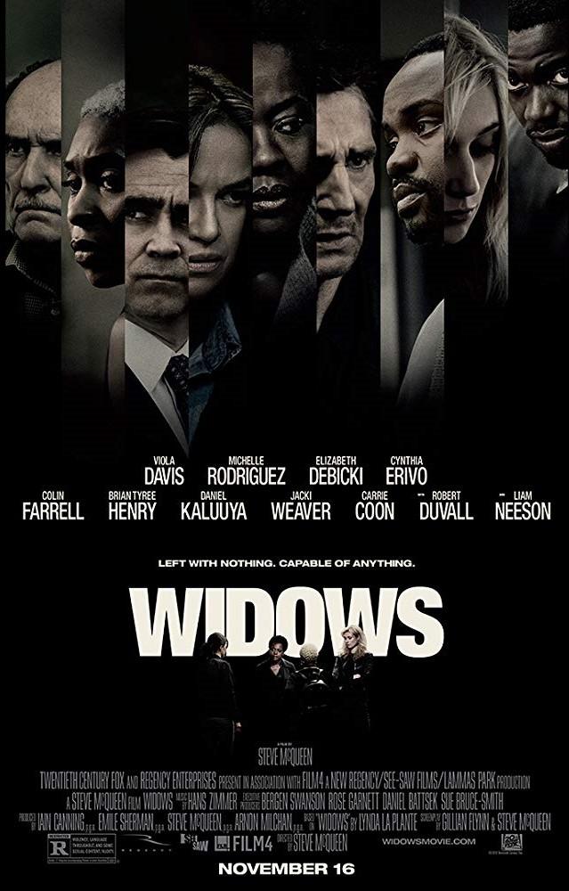 Poster phim Widows (Khi các góa phụ hành động)