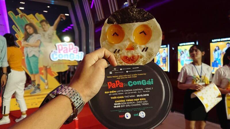 Vé xem phim Hồn Papa, Da Con Gái