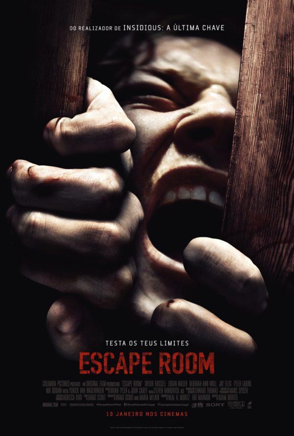 Poster phim Căn Phòng Tử Thần (Escape Room)