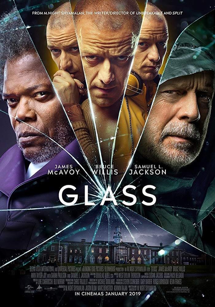 Poster phim Glass (Bộ Ba Quái Nhân)