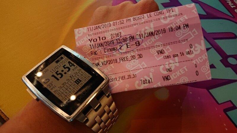 Vé xem phim Yolo - Bạn chỉ sống một lần