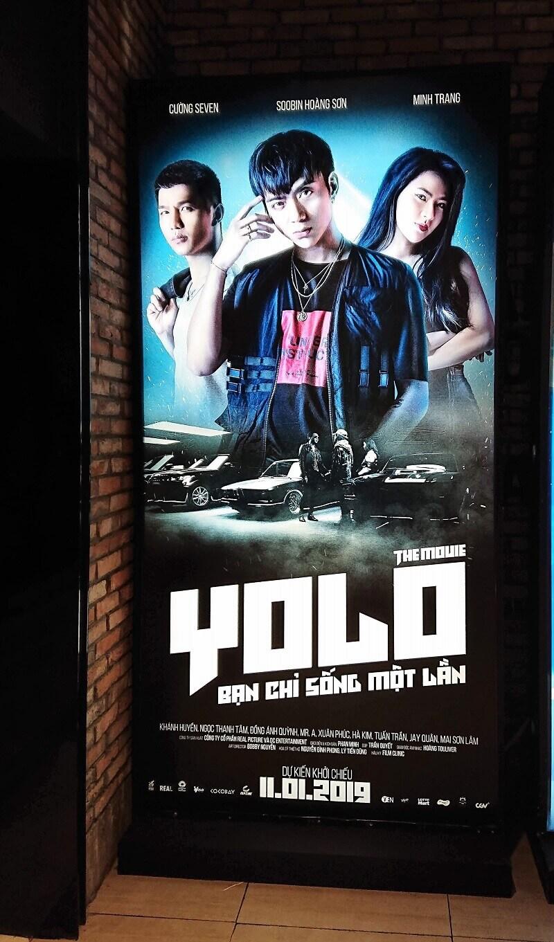 Poster phim Yolo - Bạn chỉ sống một lần