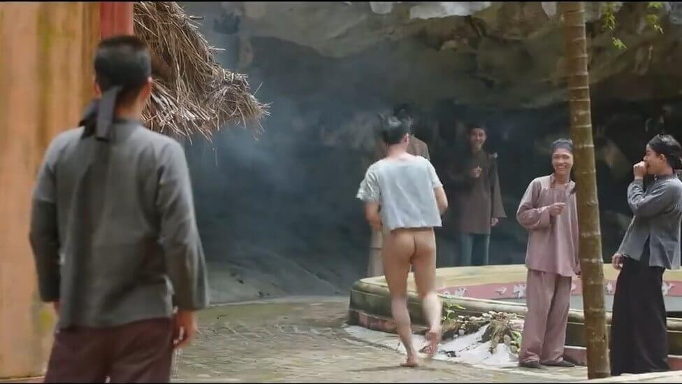 Ảnh cắt từ trailer phim Trạng Quỳnh