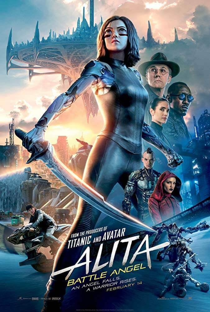Poster phim Alita: Thiên Thần Chiến Binh