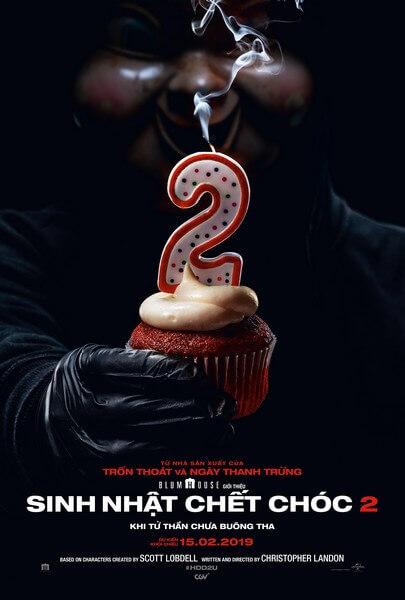 Poster phim Sinh Nhật Chết Chóc 2