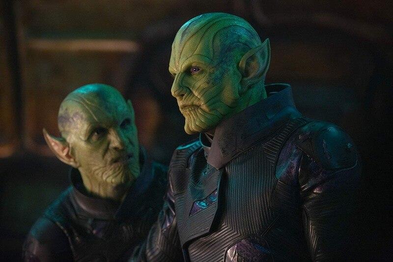 Cú lật có liên quan đến tộc Skrull khá là bất ngờ đối với Khen Phim - Captain Marvel