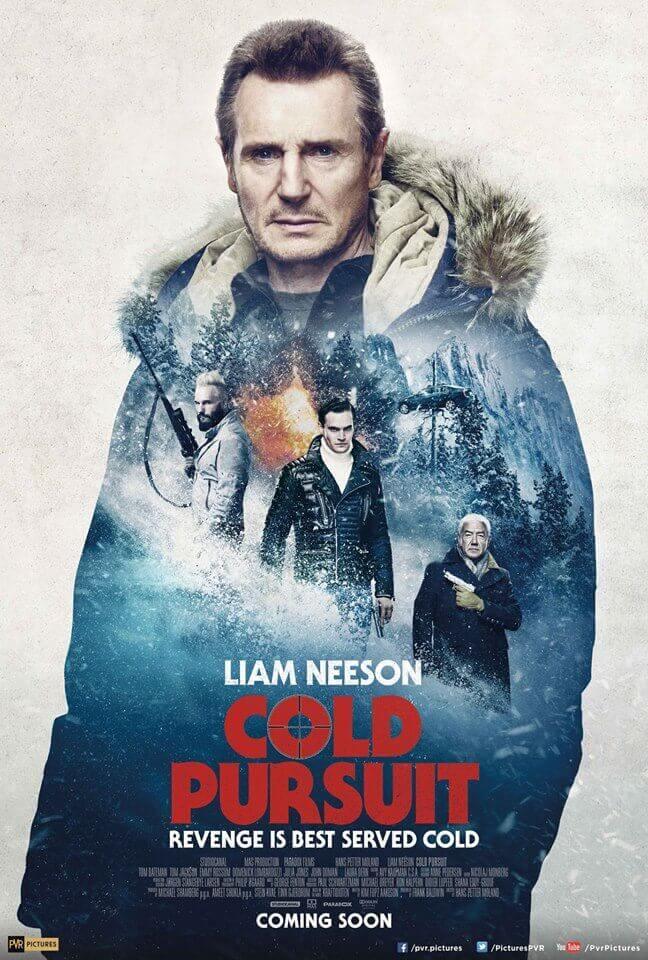 Poster phim Cold Pursuit (Báo Thù)