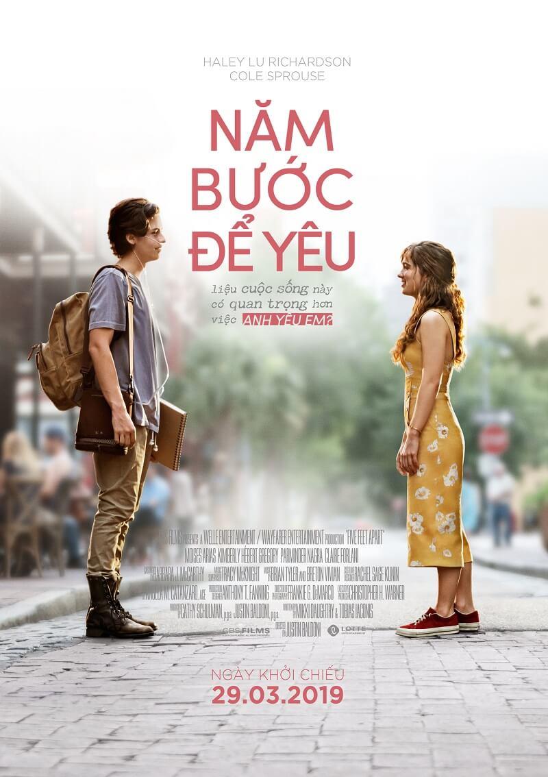 Poster phim Năm Bước Để Yêu