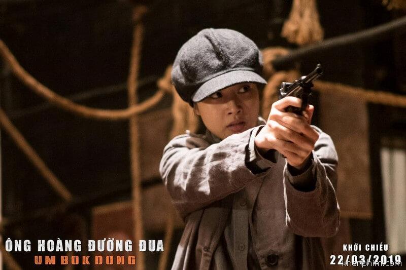 """Kang Sora đã có màn hóa thân tuyệt vời vào vai """"nữ chiến binh"""" - Ông hoàng đường đua"""