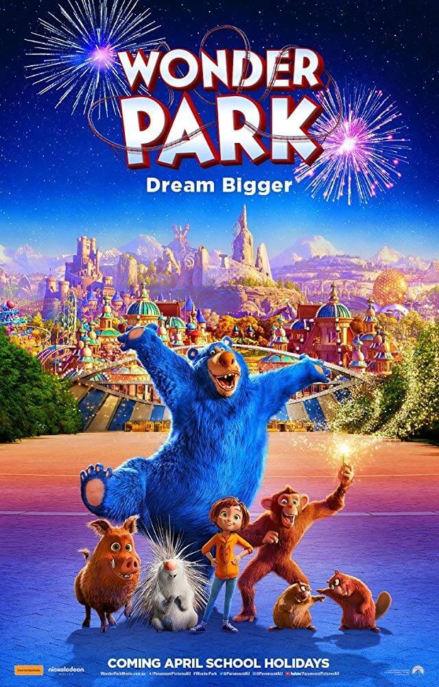 Poster phim Wonder Park (Công Viên Kỳ Diệu)